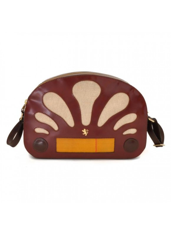 Pratesi Radio Days Radica Cross-Body Bag in cow leather - Radica Chianti