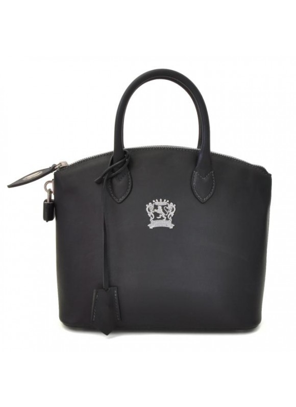 Pratesi Versilia Small Bruce Handbag in cow leather - Bruce Black