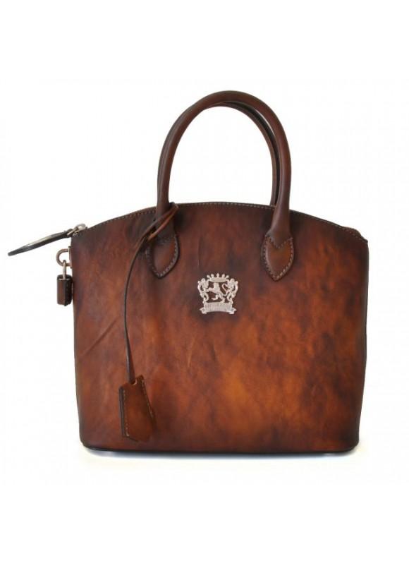 Pratesi Versilia Small Bruce Handbag in cow leather - Bruce Brown