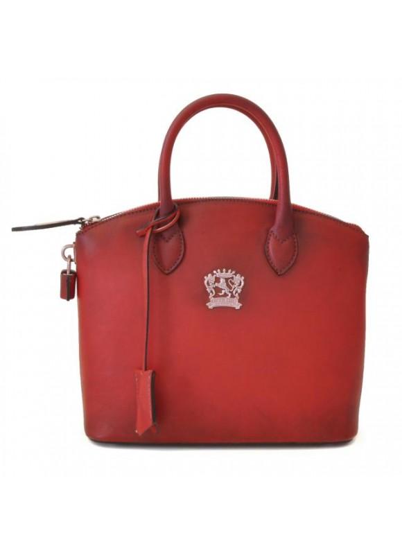 Pratesi Versilia Small Bruce Handbag in cow leather - Bruce Cherry