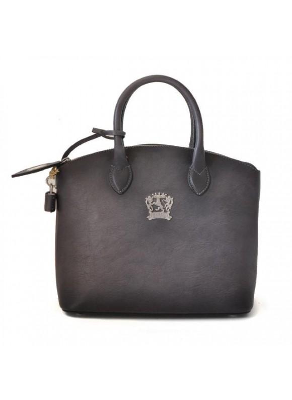 Pratesi Versilia Small Bruce Handbag in cow leather - Bruce Grey