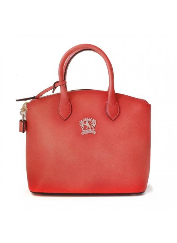 Pratesi Versilia Small Bruce Handbag in cow leather - Bruce Pink