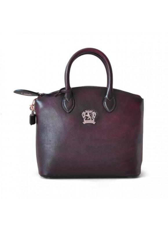 Pratesi Versilia Small Bruce Handbag in cow leather - Bruce Violet
