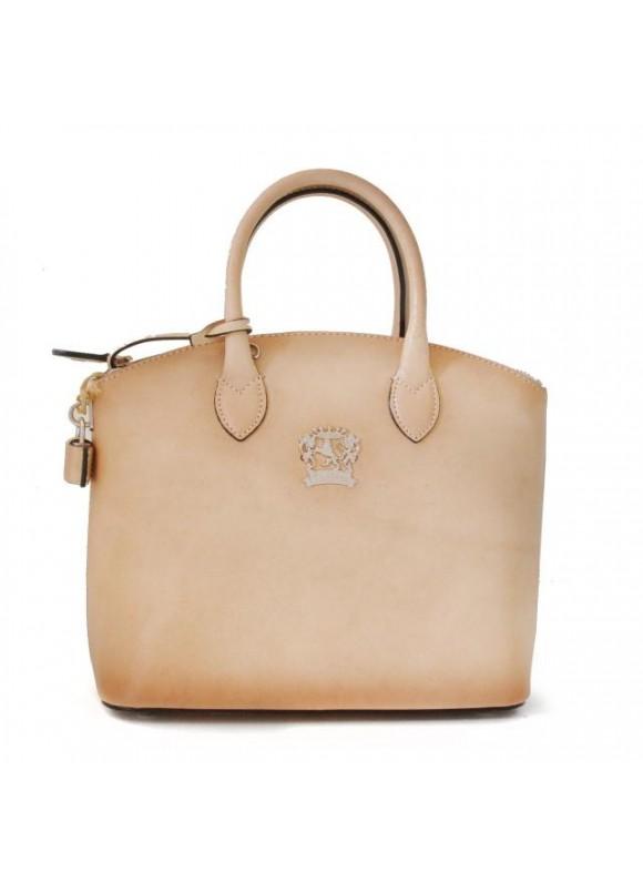 Pratesi Versilia Small Bruce Handbag in cow leather - Bruce White
