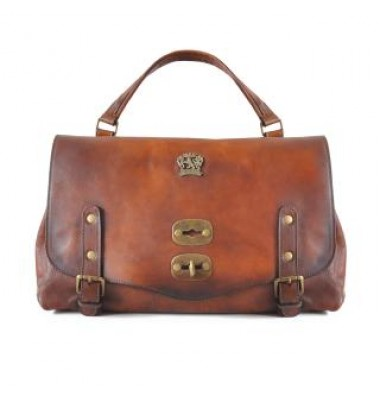 'Pratesi Woman Bag Castell''Azzara in cow leather - Bruce Brown'