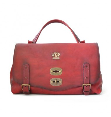 'Pratesi Woman Bag Castell''Azzara in cow leather - Bruce Chianti'