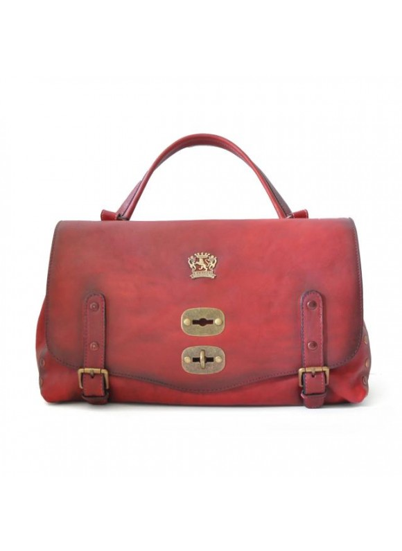 'Pratesi Woman Bag Castell''Azzara in cow leather - Bruce Chianti'