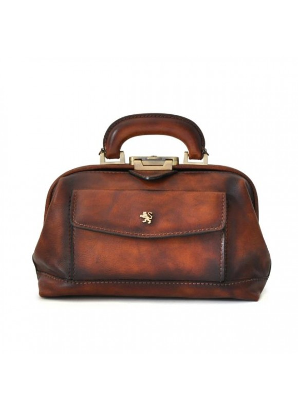 Pratesi Doctor Bag Montefioralle in cow leather - Bruce Brown