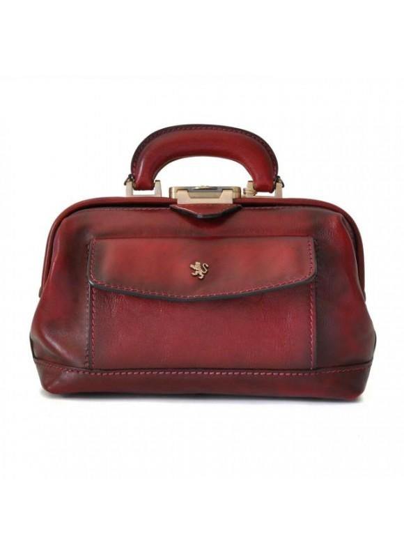 Pratesi Doctor lady bag 562/P in cow leather - Bruce Chianti