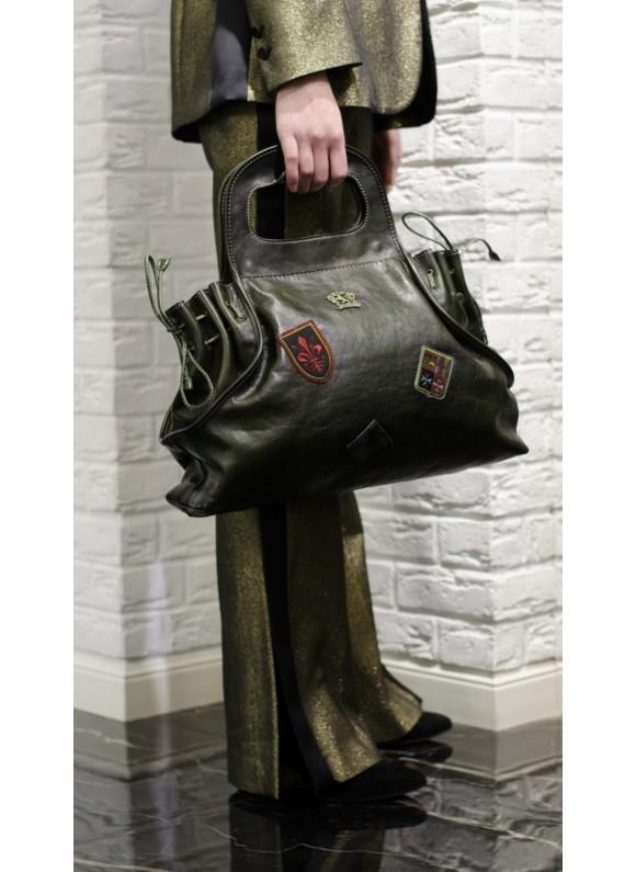 Pratesi Firenze Handbag Gaiole in cow leather