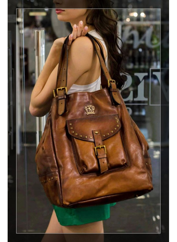 Pratesi Woman Bag Talamone in cow leather - Bruce Brown