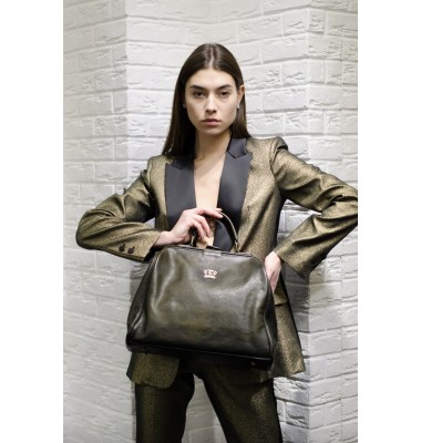 Pratesi Lady Bag Monteriggioni -Bruce Dark Green