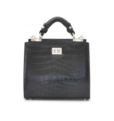 'Pratesi Anna Maria Luisa de'' Medici Small King Lady Bag in cow leather - King Black'