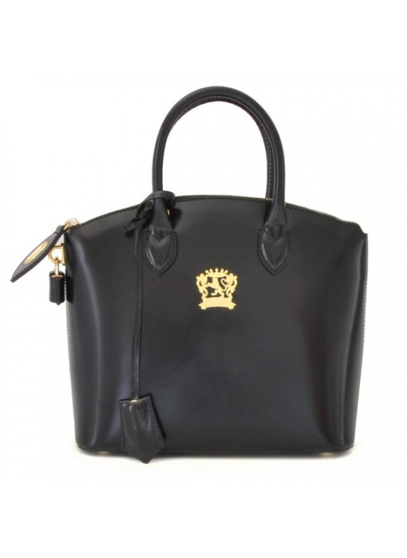 Pratesi Versilia Small Handbag in cow leather - Radica Black