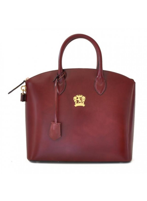 Pratesi Versilia Small Handbag in cow leather - Radica Chianti