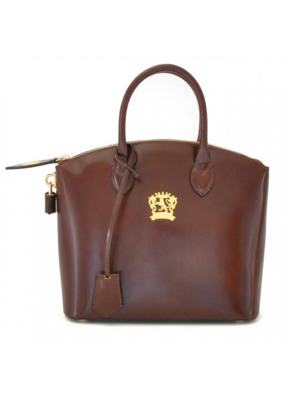 Pratesi Versilia Small Handbag in cow leather - Radica Coffee