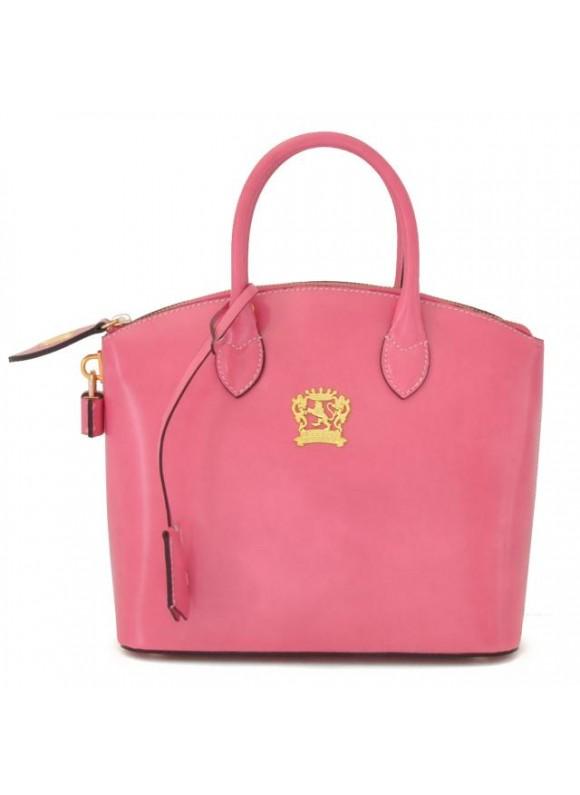 Pratesi Versilia Small Handbag in cow leather - Radica Pink