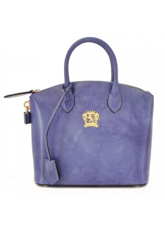 Pratesi Versilia Small Handbag in cow leather - Radica Violet