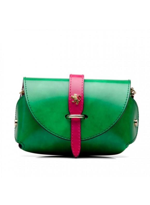 Pratesi Tote Bag Buonconvento in cow leather - Radica Emerald