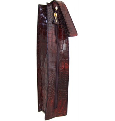 Pratesi Arianna King Wine Case in cow leather - King Brown