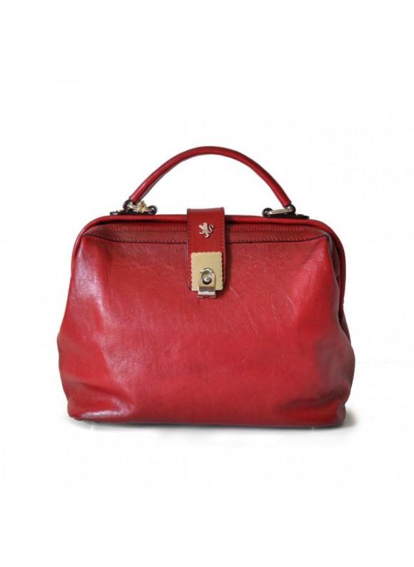 Pratesi Certaldo Bag in cow leather - Bruce Cherry