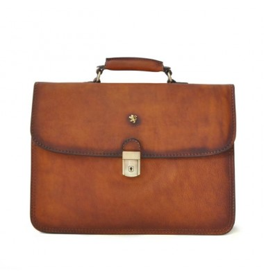 Pratesi Briefcase Cerreto Guidi in cow leather - Bruce Brown