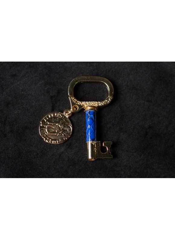 Брелок ключ с медальйоном