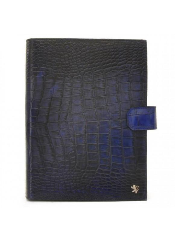 Pratesi Andrea del Sarto Кожаная папка в коже теленка - King Blue