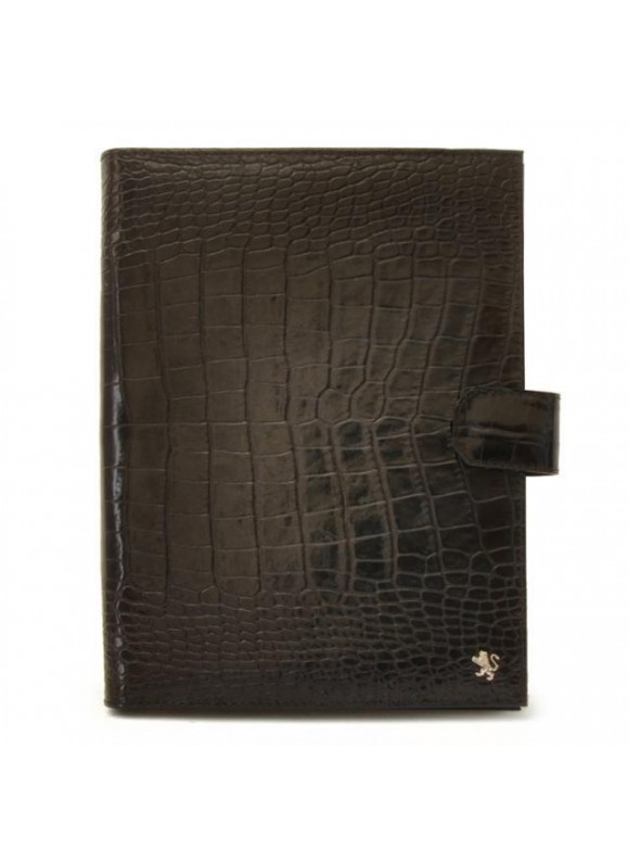 Pratesi Andrea del Sarto Кожаная папка в коже теленка - King Black