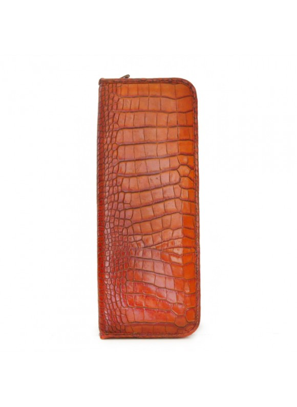 Pratesi Buontalenti R Tie Case in cow leather