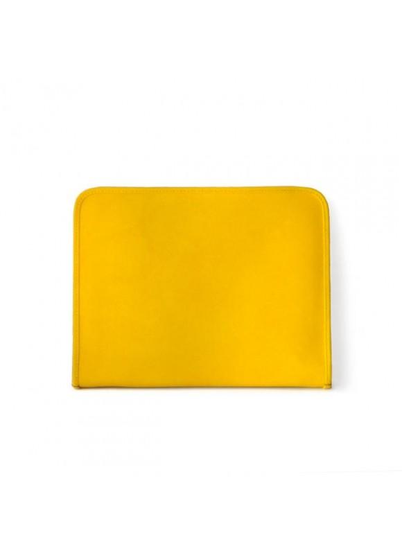 Pratesi Dante R Portfolio for Notes in cow leather - Radica Yellow