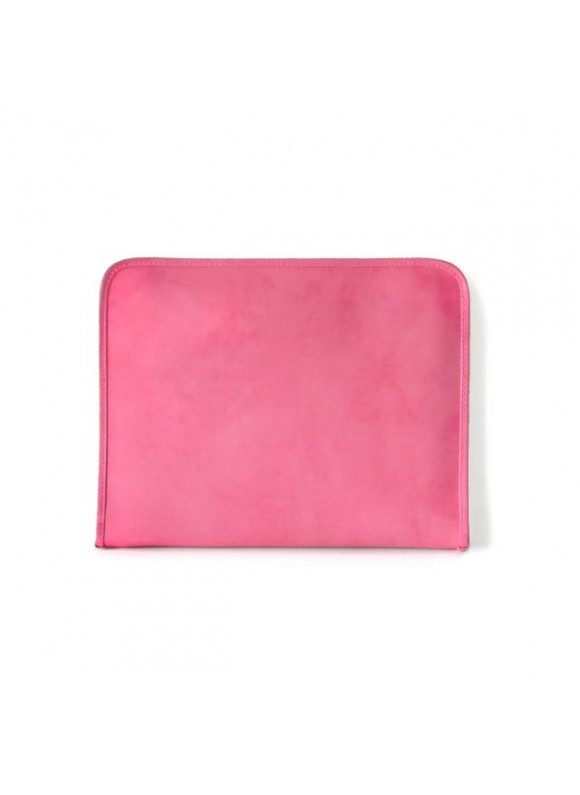 Pratesi Dante R Portfolio for Notes in cow leather - Radica Pink