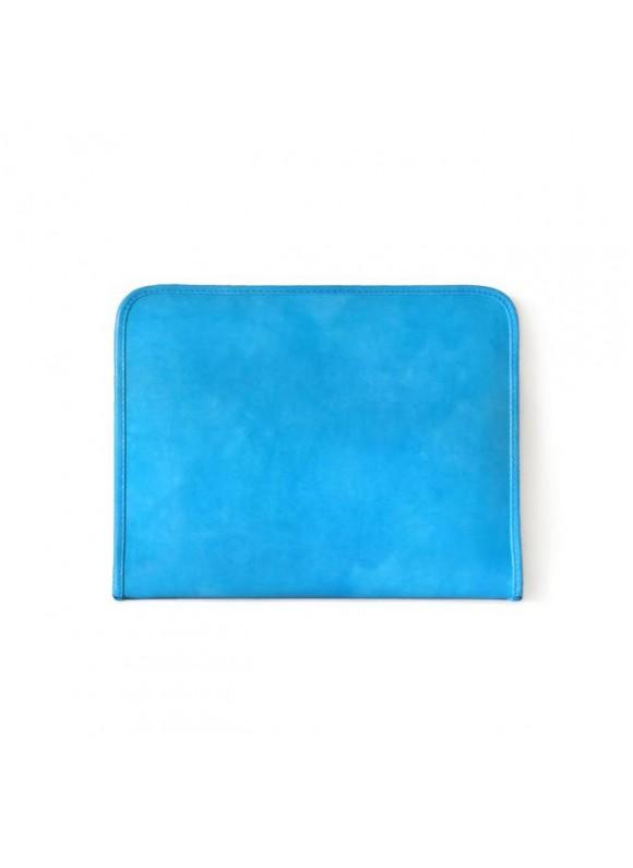 Pratesi Dante R Portfolio for Notes in cow leather - Radica Sky Blue