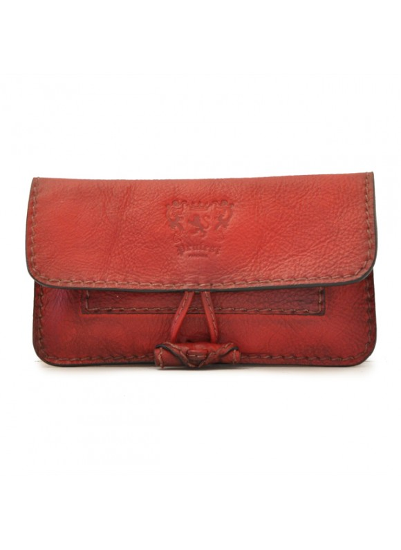Pratesi Tabacco Holder in cow leather - Bruce Cherry