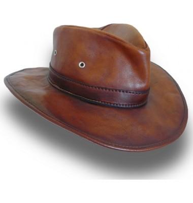 Pratesi Cagliostro Hat 57 cm in cow leather - Bruce Brown