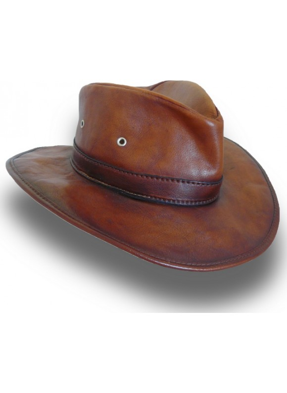 Pratesi Cagliostro Hat 57 cm in cow leather - Bruce Brown