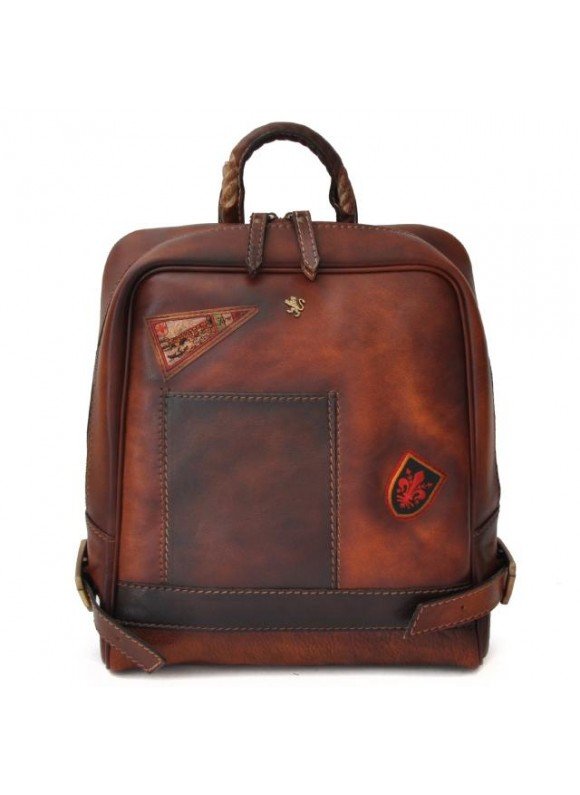 Pratesi Firenze Laptop Backpack in cow leather - Bruce Brown