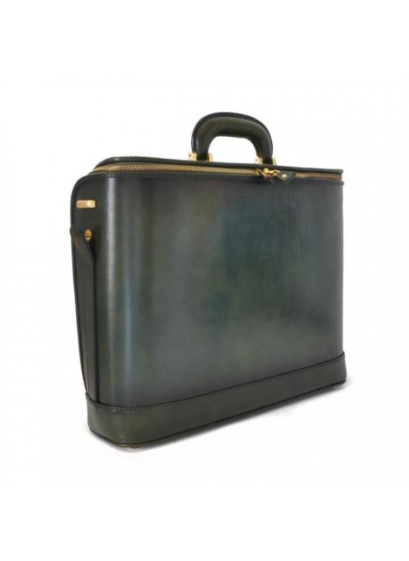 Pratesi Raffaello Santa Croce PC Bag 17 pollici in real leather