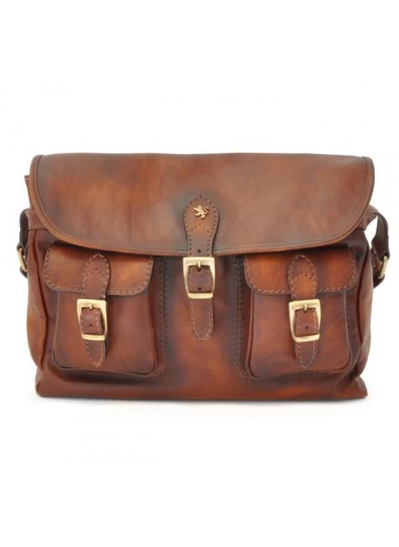 Pratesi Cross-Body Bag Maremma in cow leather - Bruce Brown
