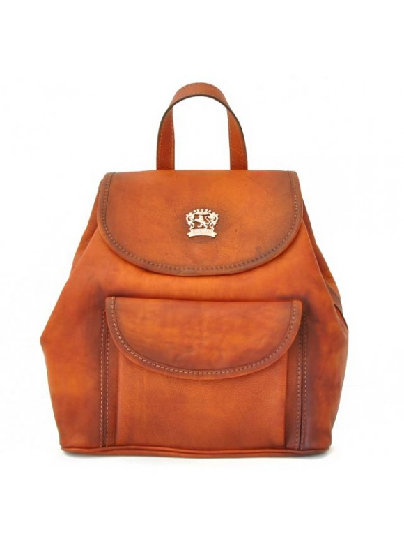 Pratesi Gaville Backpack in cow leather - Bruce Cognac