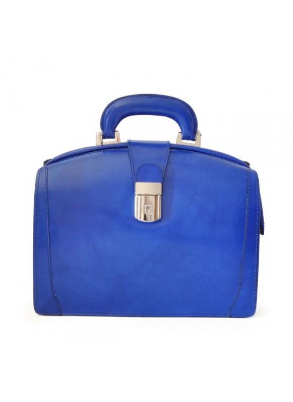 Pratesi Miss Brunelleschi Bag in cow leather - Radica Electric Blue