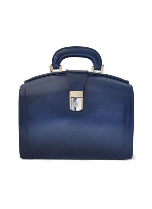 Pratesi Miss Brunelleschi Bag in cow leather - Radica Blue