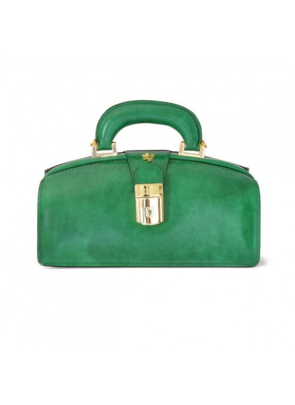Pratesi Lady Brunelleschi Bag in cow leather - Radica Emerald