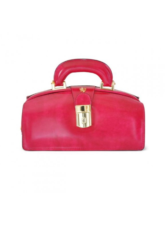 Pratesi Lady Brunelleschi Bag in cow leather - Radica Fuchsia