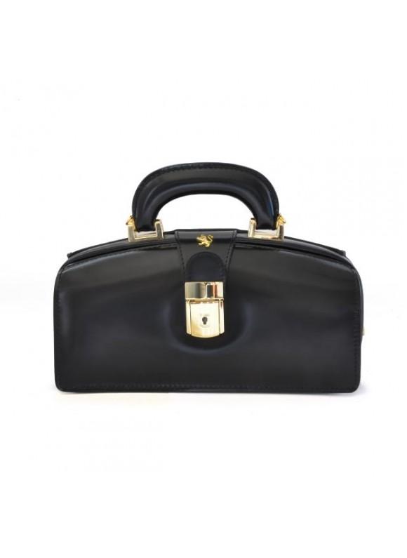 Pratesi Lady Brunelleschi Bag in cow leather - Radica Black