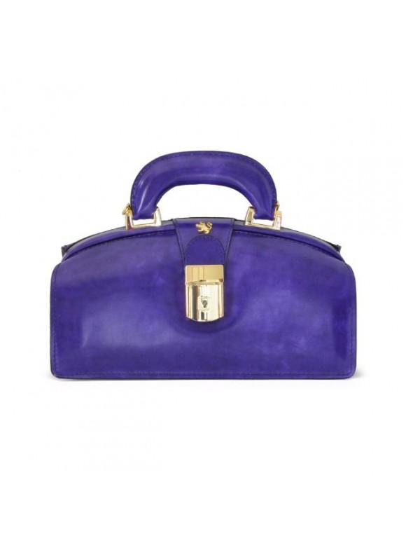 Pratesi Lady Brunelleschi Bag in cow leather - Radica Purple