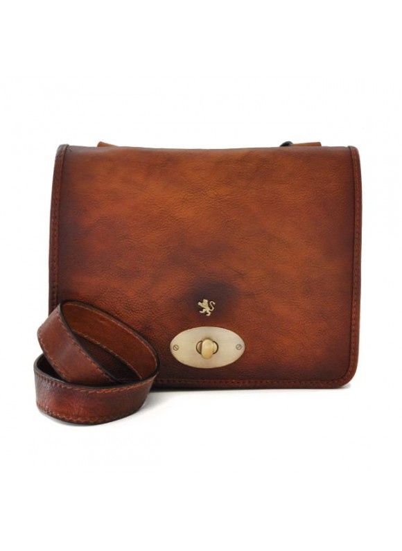 Pratesi Cross-Body Bag Portalettere Small in cow leather - Bruce Brown