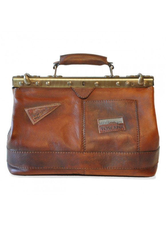 Pratesi Handbag San Casciano in cow leather - Bruce Coffee