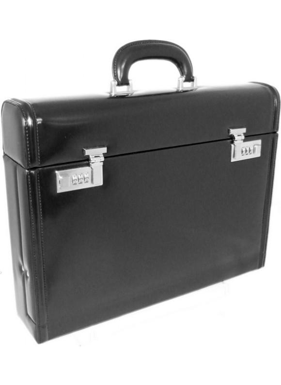 Pratesi Ghirlandaio Briefcase in cow leather - Radica Black
