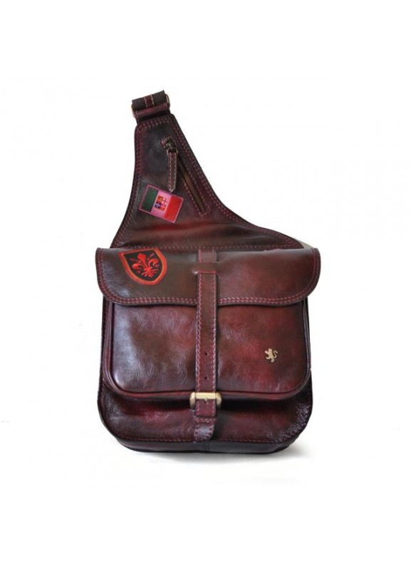 Pratesi Bisaccia Cross-Body Bag in cow leather - Bruce Chianti